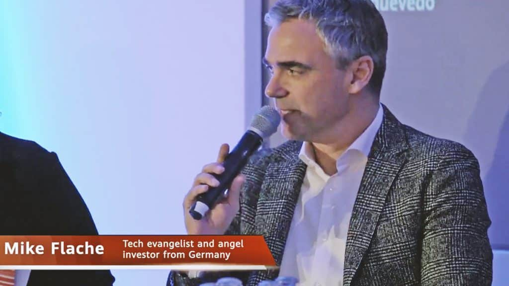 Mike Flache, panelist at the Trust in Tech Symposium in London