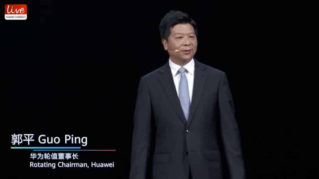 Guo Ping, Rotating Chairman, Huawei