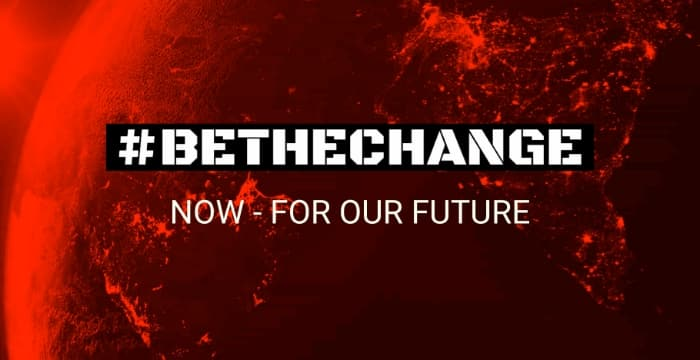 #bethechange – now and for the future